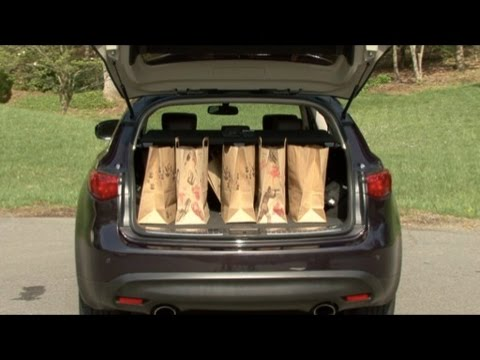 2010 Infiniti Fx Cargo Capabilities Youtube