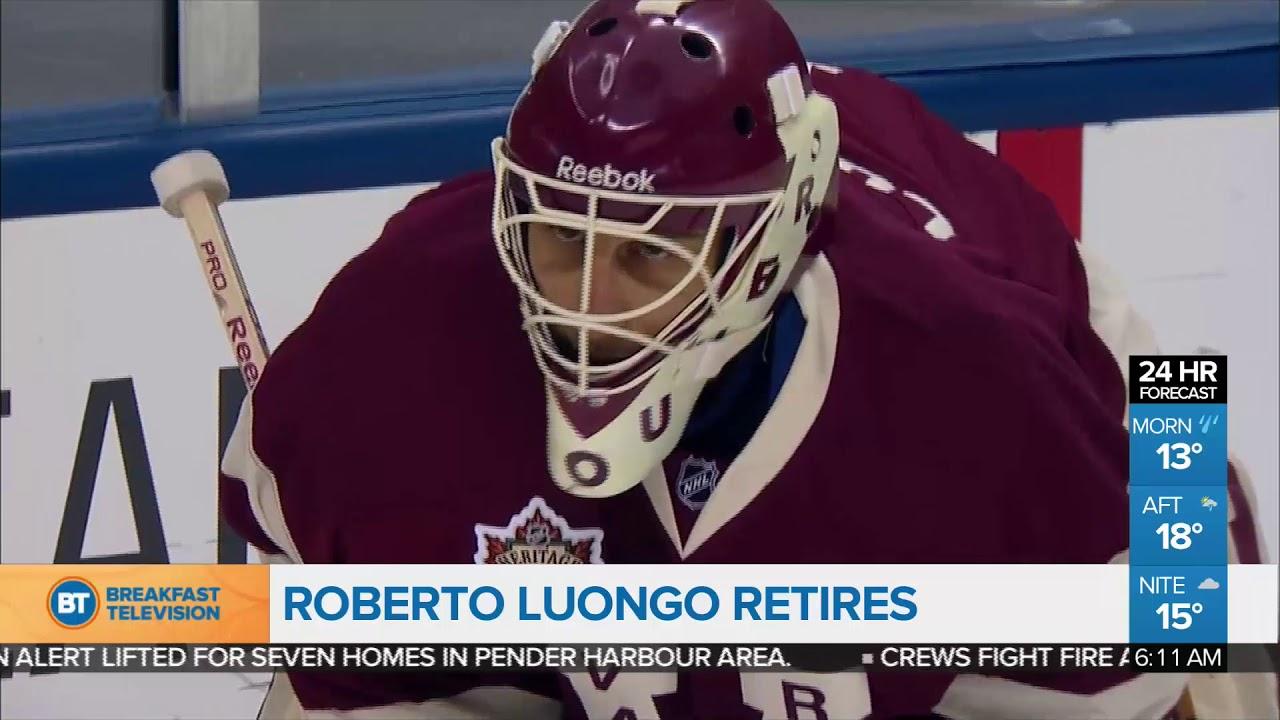 Roberto Luongo Retires Youtube