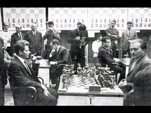 Boris Spassky's Amazing Immortal Rook Sacrifice Game vs Bent Larsen 1970 - Brilliancy!