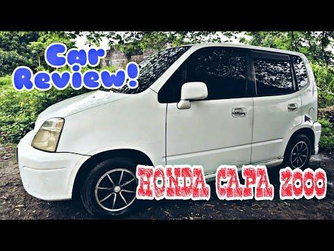 HONDA CAPA 2000 CAR REVIEW