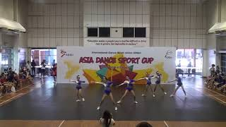 IDSU Asia Dance Sport Cup 2018 - 11 Chengdu Yundong Sports Club B  - Aerobics Junior Small