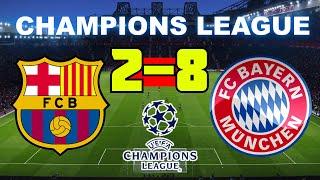 Barcelona se enfrenta a bayern munich por la champions league el dia del partido vs en vivo es viernes 14 de agosto 2020, barc...