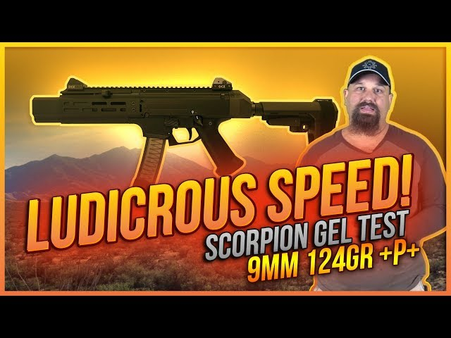 Ludicrous Speed! Underwood 124gr Gold Dot Scorpion Gel Test