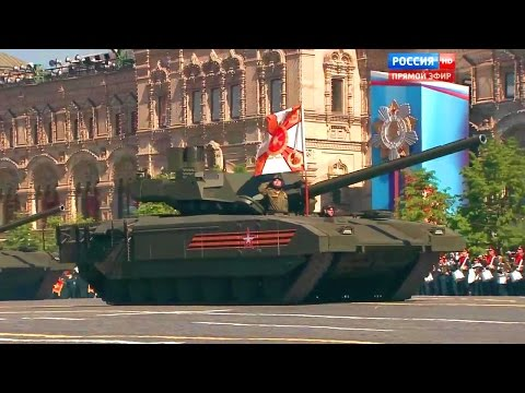 Russia 24 - Victory Day Parade 2016 : Full Army Military Assets Segment [720p]