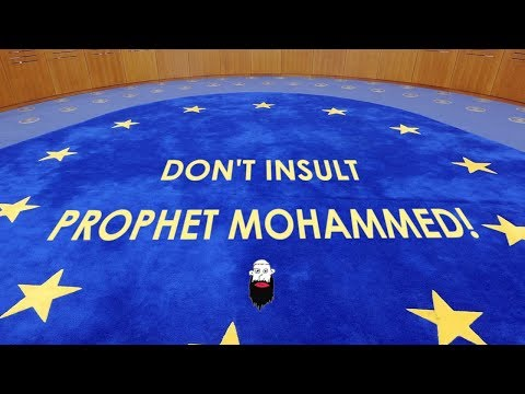 """""""Mohammed Was A Pedophile"""" - To The European Court of Human Rights"""