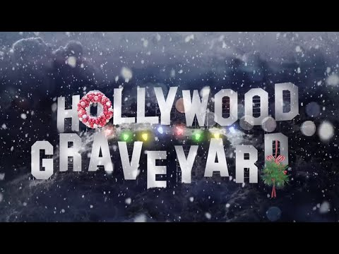 It's Christmastime in Hollywood Graveyard