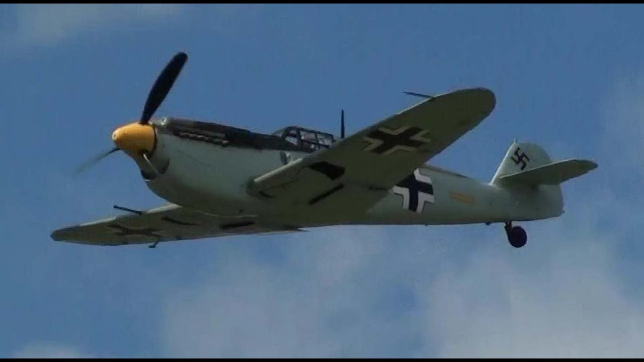Messerschmitt Bf 109  Hd  Hispano Buchon G-bwue