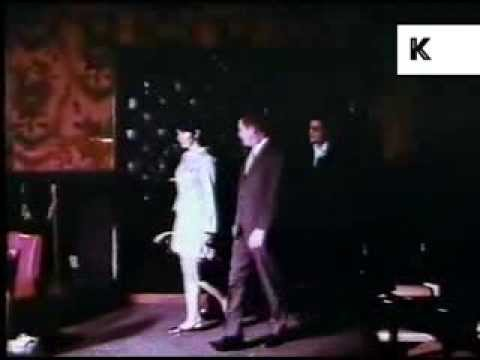 Late 1960s/ Early 1970s Havana, Cuba Night Club, Bongo Players, Colour Footage