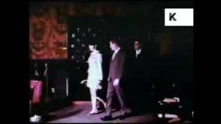 Late 1960s/ Early 1970s Havana, Cuba Night Club, Bongo Players, Colour Footage