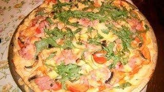 Готовим с Тинкой-Пицца..много пиццы)