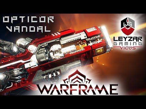 Opticor Vandal Build 2019 (Guide) - The Turbocharged Option (Warframe Gameplay) thumbnail