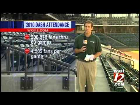 Winston-Salem Dash Report Strong Attendance
