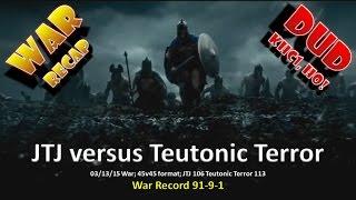Clash of Clans -- Clan Wars -- 03/13 War DUD -- TH9 vs TH9 -- KHC1, HO!