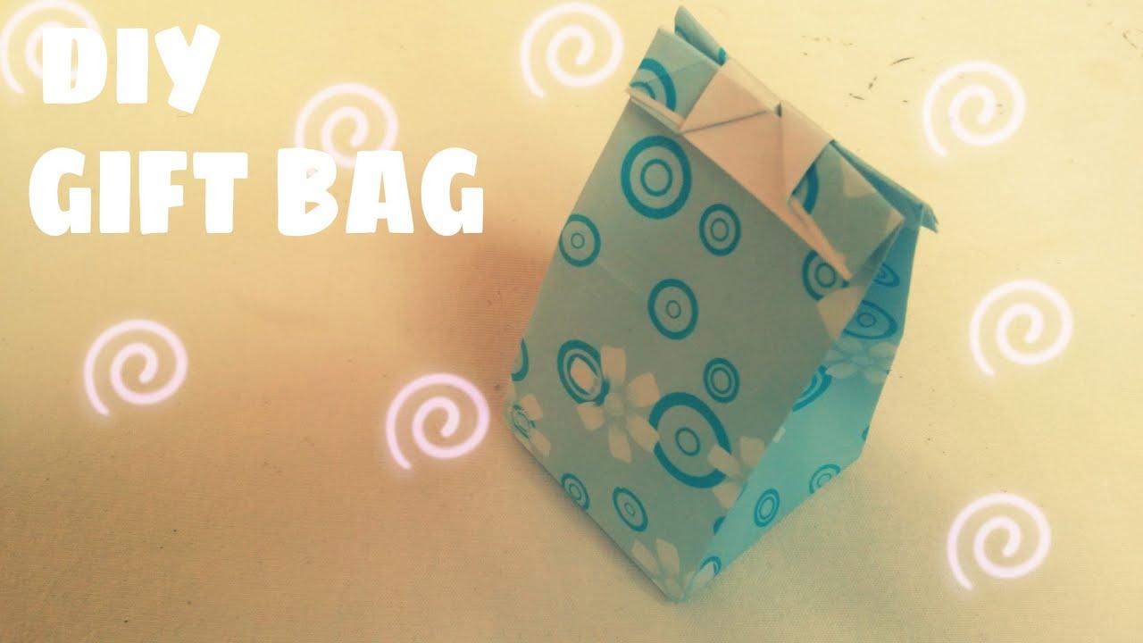 DIY – Tự làm túi giấy đựng quà vô cùng dễ thương
