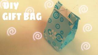 DIY - Tự làm túi giấy đựng quà vô cùng dễ thương