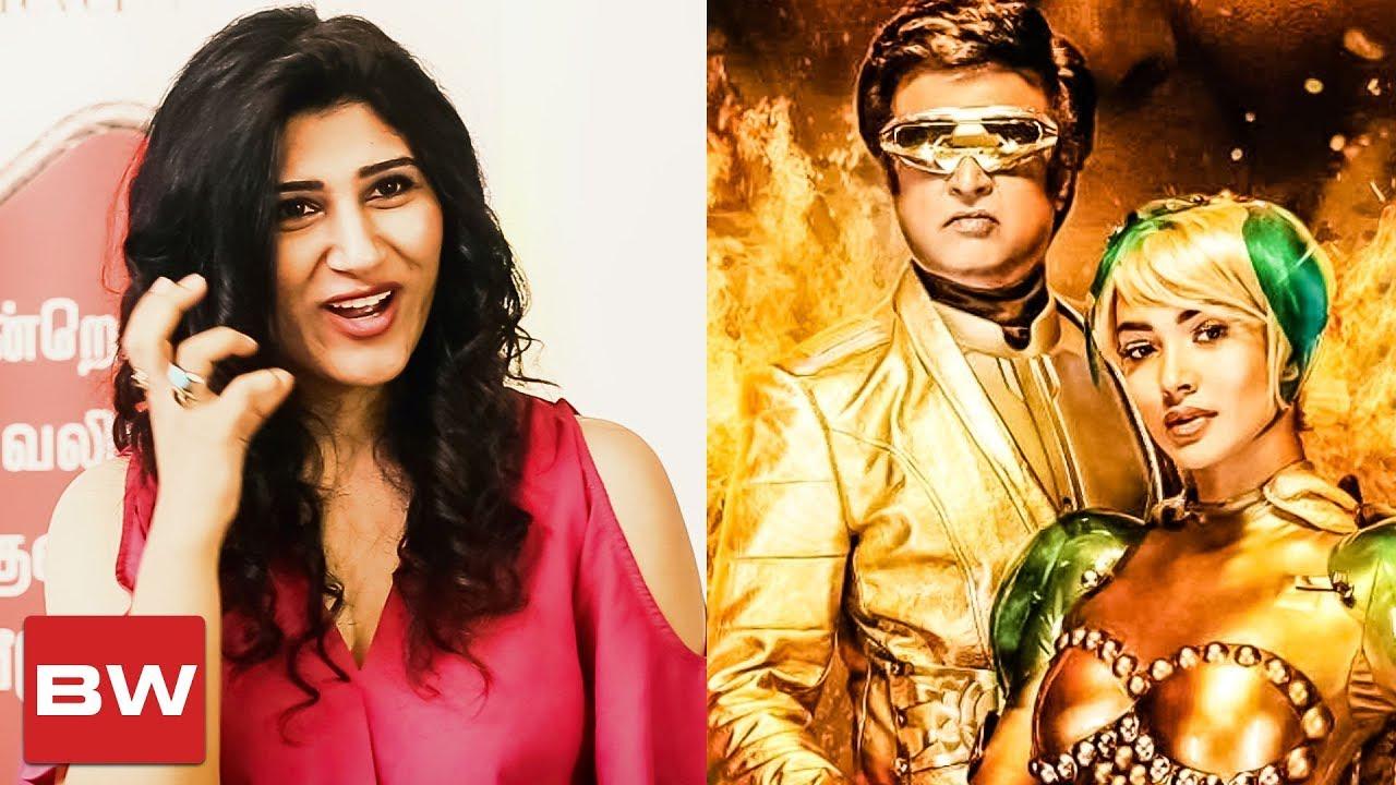 Shashaa Tirupati Sings \'Endhira Logathu Sundariye\' | 2.0 | A R ...