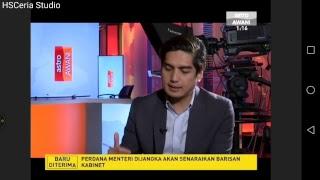 Sidang media Perdana Menteri Tun Dr Mahathir Mohamad Pengumuman kabinet