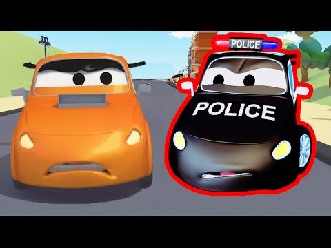 Patrol Policyjny.Miasto samochodów . Bajki dla dzieci.