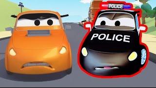 Patrol Policyjny wóz strażacki i radiowózi Wielki Wyścig | Samochody i Ciężarówki bajki dla dzieci