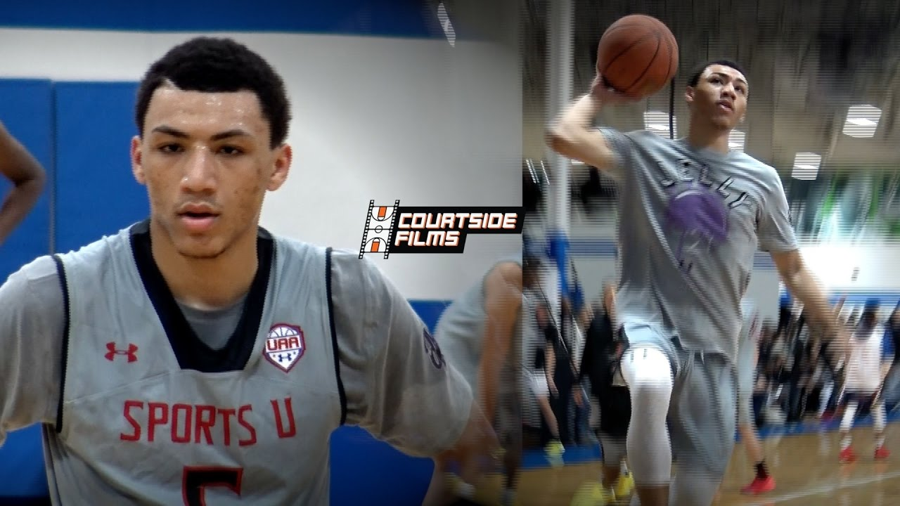 0706321458d Jahvon Quinerly Makes Case For #1 PG In 2018! Mixtape @ UAA Indy!