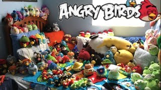 BIGGEST Angry Birds Plush Collection EVER! - September 2018