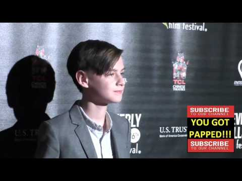 Jaeden Lieberher at the Beverly Hills Film Festival   Opening Night Premiere Of The Lennon Report An