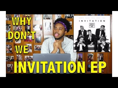 WHY DONT WE- INVITATION EP REACTIONREVIEW