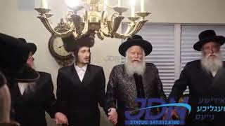 Tenoim of the youngest son of the Bobover Rebbe