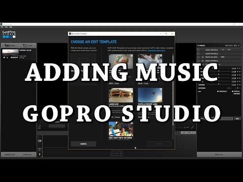 How to Add Music Into GoPro Studio  Tutorial for Beginners  How to GoPro