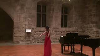 final recital 8th grade #Al   Bach partita no. 3 prelude