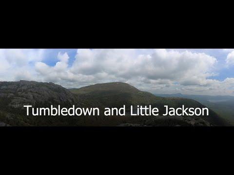 Tumbledown and Little Jackson Mountains -  September 2015