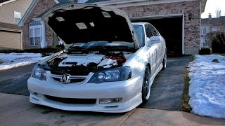 Insanely Epic Acura Tl Revving Engine Sound And Acceleration Exhaust Sound