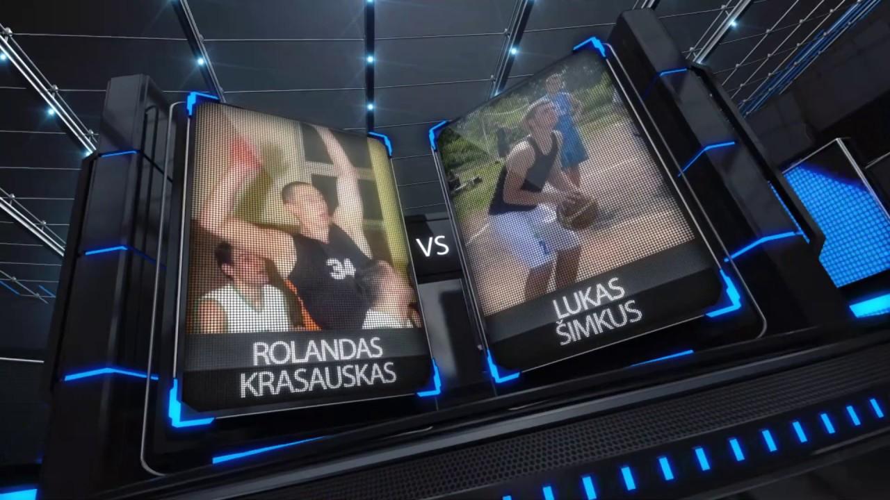 TOPsport Ghetto King 1x1: Rolandas Krasauskas vs Lukas Šimkus