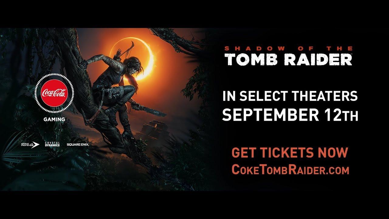 В кинотеатрах покажут фильм о создании Shadow of the Tomb Raider. А Coca-Cola — наградит призами