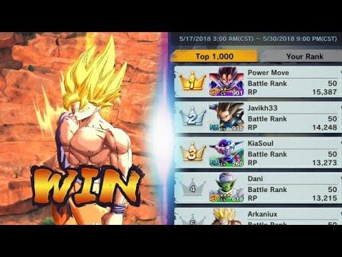 Dragon Ball Legends - PVP Online Ranking Battles