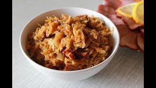 #рецепткапусты Капуста с грибами.Овощное рагу.Рецепт тушеных овощей с грибами.