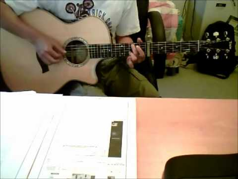 Never Grow Up by Taylor Swift (guitar cover) with TABS - YouTube