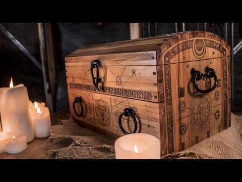 The Witcher's Wooden Alchemy Chest // Woodworking Build