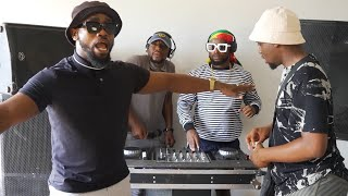 Amapiano Live balcony mix - parody | Cassper, JazzQ, Kabza and Maphorisa