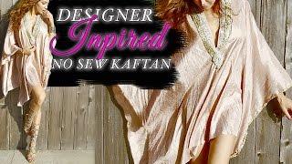 EASY DIY Kaftan Dress - NO SEWING