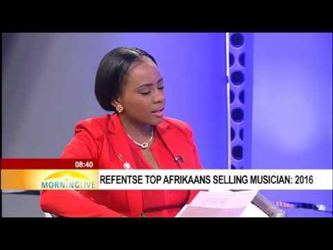 Refentse top Afrikaans selling musician: 2016