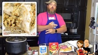 Crock Pot Chicken and Stuffing: Cookin' Cris' Dishes