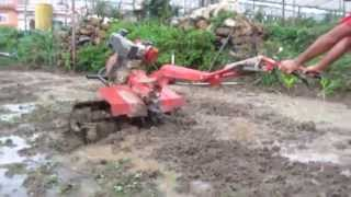 6 hp multifunction mini tiller