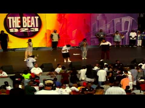 Bone Thugs-N-Harmony - Ready 4 War & Friends (92.3 Summer Jam Festival, 1997)