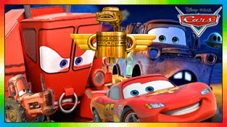 CARS ENGLISH - Disney Kids Movie - Cars Toons Toon with McQueen & Mater & Frank - Disney Movie - 4K