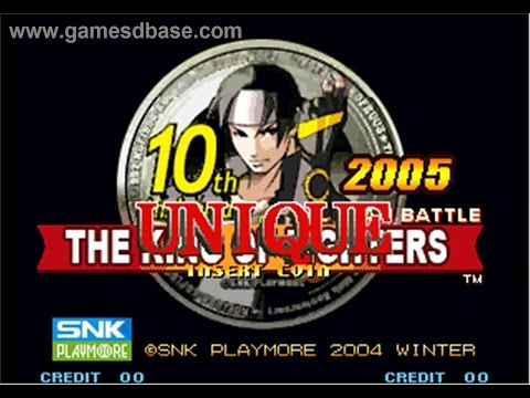 The King Of Fighters 2005 - Aniversário de 10 anos