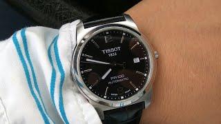Обзор часов Tissot PR100 Automatic механика с автоподзаводом