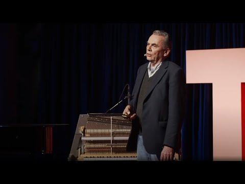 Reaching new heights - a man and his piano | Dāvids Kļaviņš | TEDxRiga