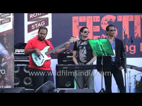 Kolkata's famous Krosswindz Band in Mizoram