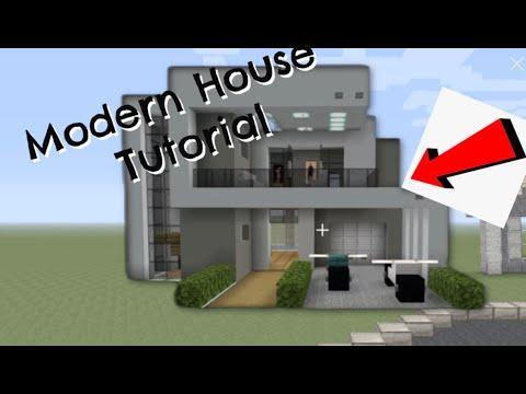 Minecraft: Nice Modern House Tutorial